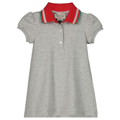 Picture of Gucci 552356 baby dress grey