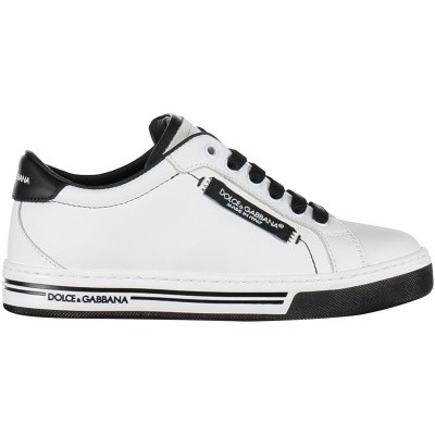 Afbeelding van Dolce & Gabbana DA0626 kindersneakers wit