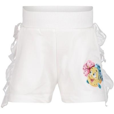 Picture of MonnaLisa 393424RI baby shorts white