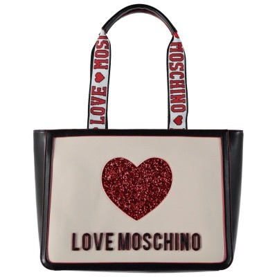 Picture of Moschino JC4154 womens bag off white