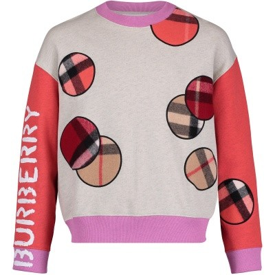 Picture of Burberry 8006185 kids sweater grey