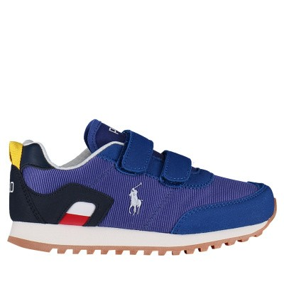 Picture of Ralph Lauren RF101648 kids sneakers cobalt blue