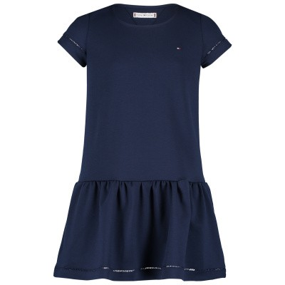 Picture of Tommy Hilfiger KG0KG04289 kids dress navy