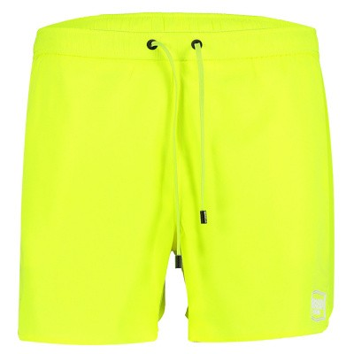 Picture of My Brand MMBSS003 mens swimshorts fluoro yellow