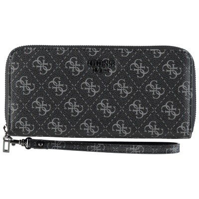 Picture of Guess SWSM7103460 womens wallet black