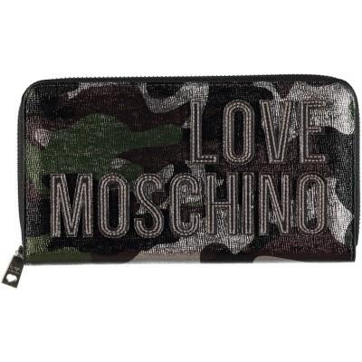 Afbeelding van Moschino JC550 dames portemonnee army