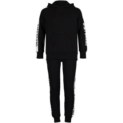 Afbeelding van My Brand BMBJS013GM001 kinder joggingpak zwart
