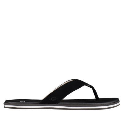 Picture of Ugg 1020084 womens flipflops black