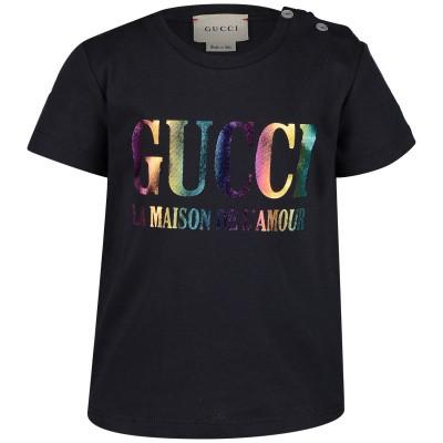 Afbeelding van Gucci 548034 baby t-shirt zwart