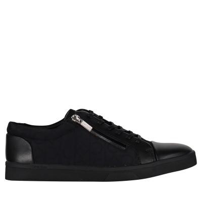 Picture of Calvin Klein IBRAHIM mens sneakers black