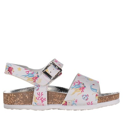 Picture of MonnaLisa 833015 kids sandals white