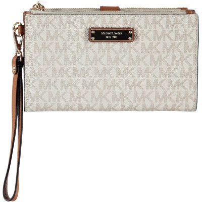 Picture of Michael Kors 32T7GAFW4B womens wallet off white