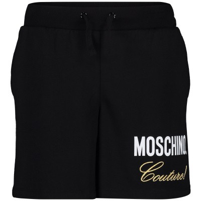 Picture of Moschino HEP02O kids shorts black