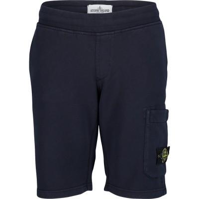 Afbeelding van Stone Island 701660740 kinder shorts donker blauw