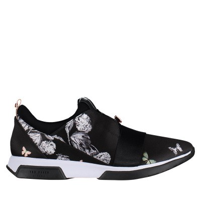 Picture of Ted Baker 918202 womens sneakers black