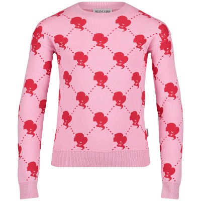 Picture of Reinders VES19G946B kids sweater pink