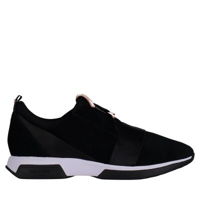 Picture of Ted Baker 917967 womens sneakers black
