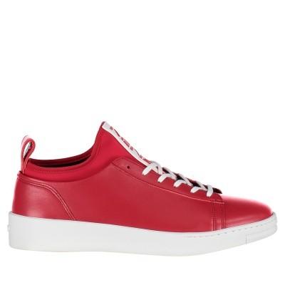 Afbeelding van Kenzo F865SN136L50 heren sneakers rood