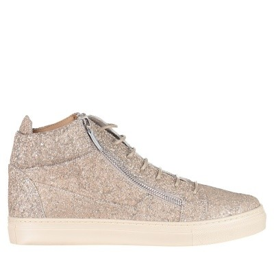 Picture of Guiseppe Zanotti SBI7715 kids sneakers silver