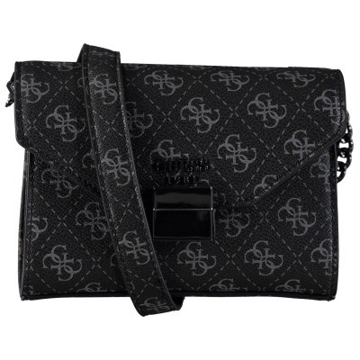 Picture of Guess HWSM7103780 womens bag black