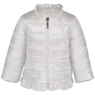Picture of Liu Jo H19020 baby coat white