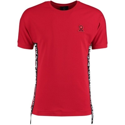 Picture of Believe That BLVTTS180611 mens t-shirt red