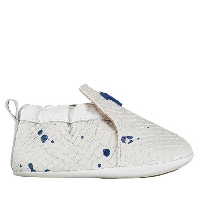 Picture of Guiseppe Zanotti SBE9001 baby shoes white