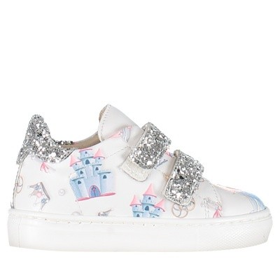 Picture of MonnaLisa 832013 kids sneakers off white