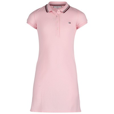 Picture of Tommy Hilfiger KG0KG04270 kids dress light pink