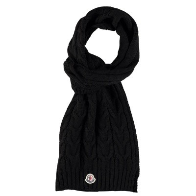 Picture of Moncler 0001605 kids scarf black