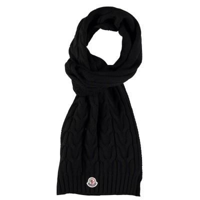 Afbeelding van Moncler 0001605 kinder sjaal zwart