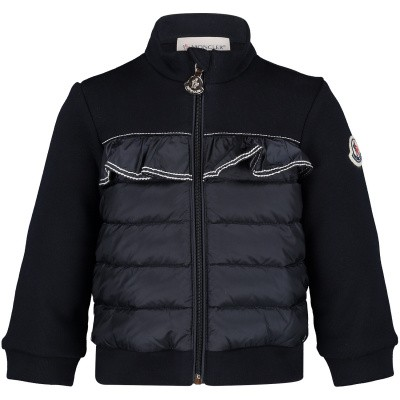 Picture of Moncler 8466905 baby vest navy