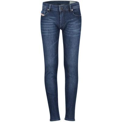 Afbeelding van Diesel 00J3RJ KXA89 kinderbroek jeans