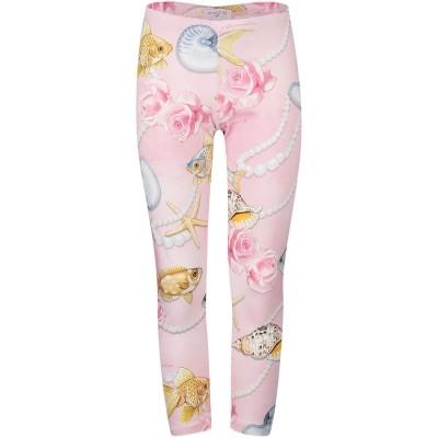 Afbeelding van MonnaLisa 111404 kinder legging licht roze