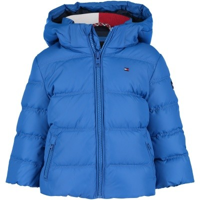 Picture of Tommy Hilfiger KB0KB04320B baby coat cobalt blue
