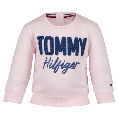 Picture of Tommy Hilfiger KG0KG04040B baby sweater light pink