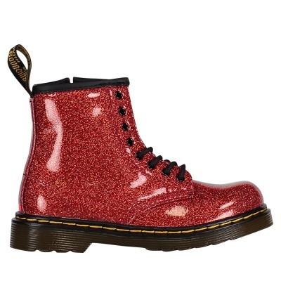 Picture of Dr. Martens 24290635 kids boots red