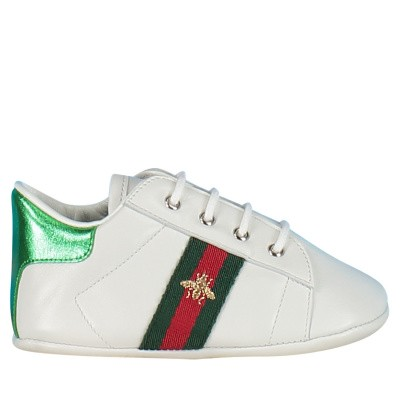 Picture of Gucci 552922 baby sneakers white