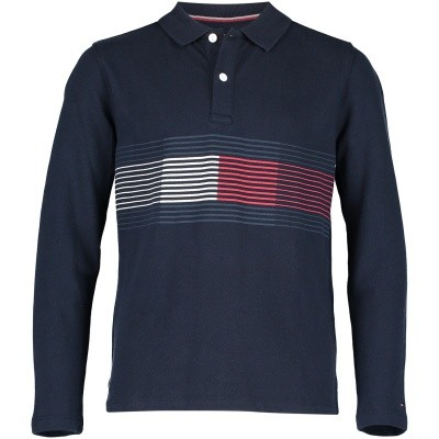 Picture of Tommy Hilfiger KB0KB04329 kids polo shirt navy