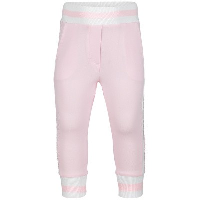 Picture of MonnaLisa 393413R8 baby pants light pink