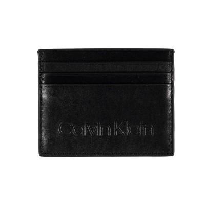Afbeelding van Calvin Klein K50K504465 heren portemonnee zwart