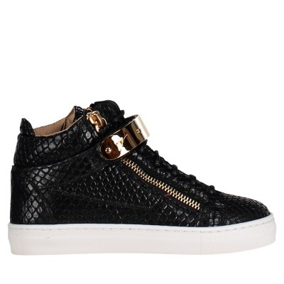 Picture of Guiseppe Zanotti SBE9111/9411 kids sneakers black