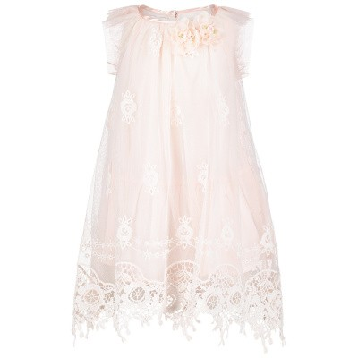 Picture of Kate Mack 306 baby dress light pink