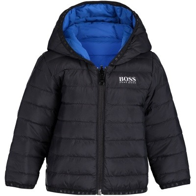 Picture of Boss J06184 baby coat black