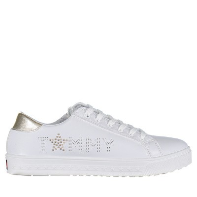 Picture of Tommy Hilfiger 30296 kids sneakers white