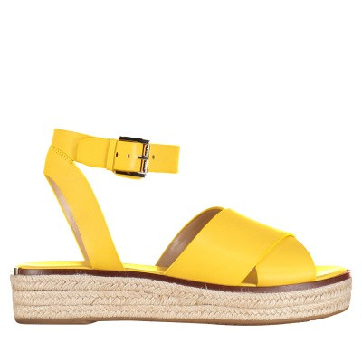 Picture of Michael Kors 40S9ABFA1L womens sandals yellow