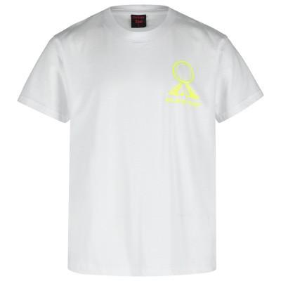 Afbeelding van Believe That NEON LOGO SHIRT kinder t-shirt wit