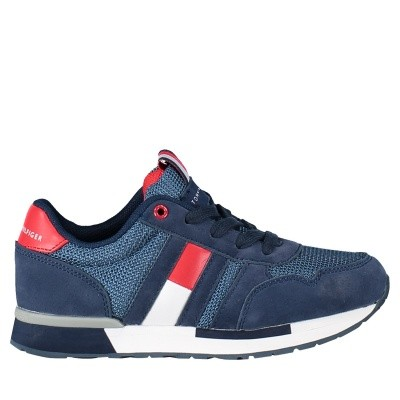 Picture of Tommy Hilfiger T3B430080 kids sneakers navy