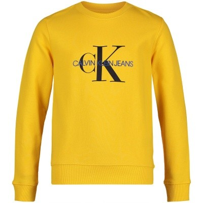 Picture of Calvin Klein IB0IB00059 kids sweater yellow