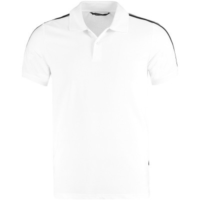Picture of Airforce M0563 mens polo shirt white